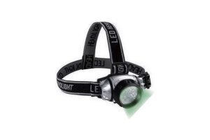 SunPro Green LED Headlamp - čelovka zelená 19LED